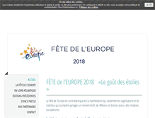 Tablet Preview of lafetedeleurope.eu